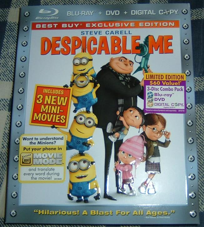 Mega Construx Despicable Me 3 Minion Figure - Blind Box ...