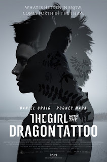 Millenium, David Fincher, The Girl with the dragon tattoo poster, picture, affiche