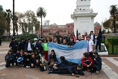 4º - PLAZA DE MAYO Y CAMINITO - 2013