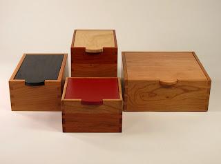 4 Handmade Boxes