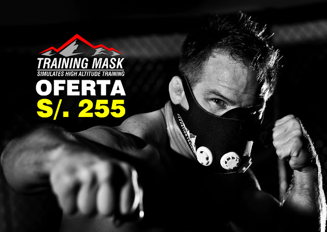 Training Mask 2.0 a solo S/. 255