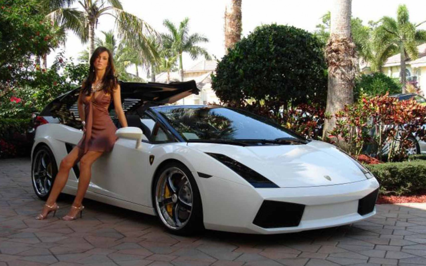 girls and tuner car - photo #47