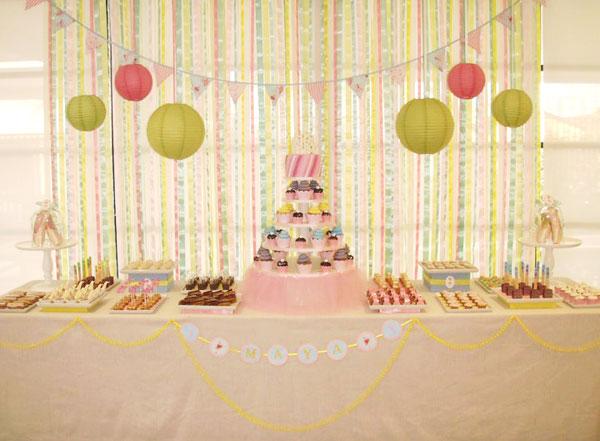 decoracao festa simples:Decoração de festa de meninas