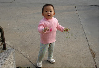 Baby-girl, to be her parents' social security, Wuhan 2005