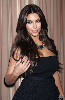 Kim Kardashian Hot Photos in Black