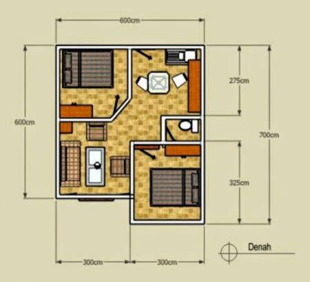 desain rumah minimalis type 36 72 | design rumah minimalis
