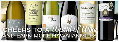 Earn 5,000 Hawaiian Airlines Miles By Signing Up For World Of Wine