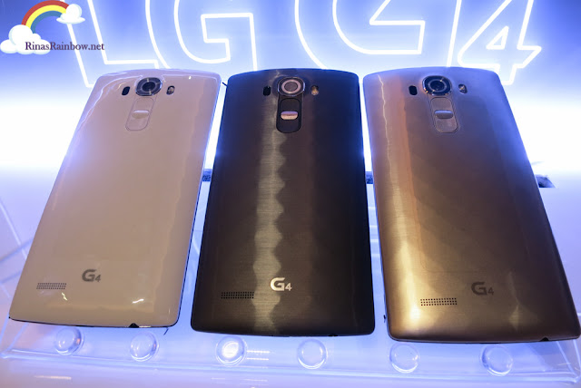 LG G4 Metallic colors