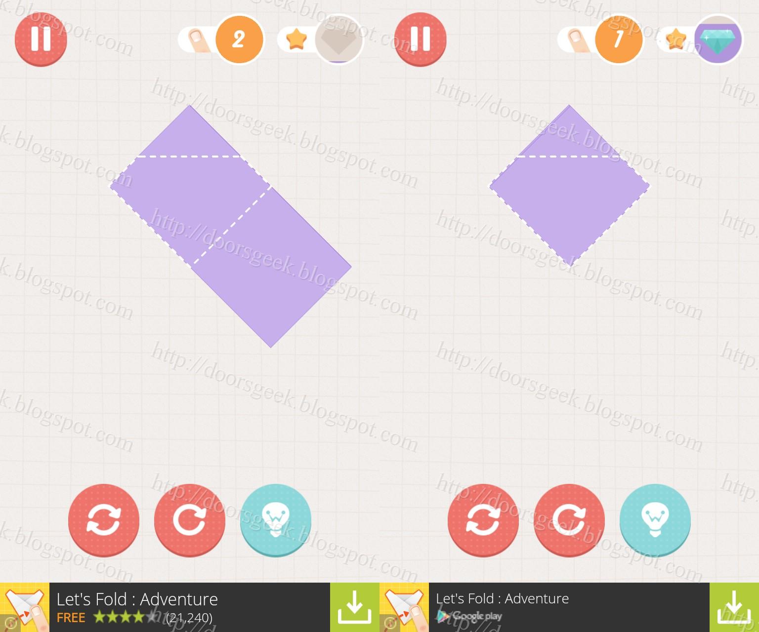 Folds Origami Walkthrough