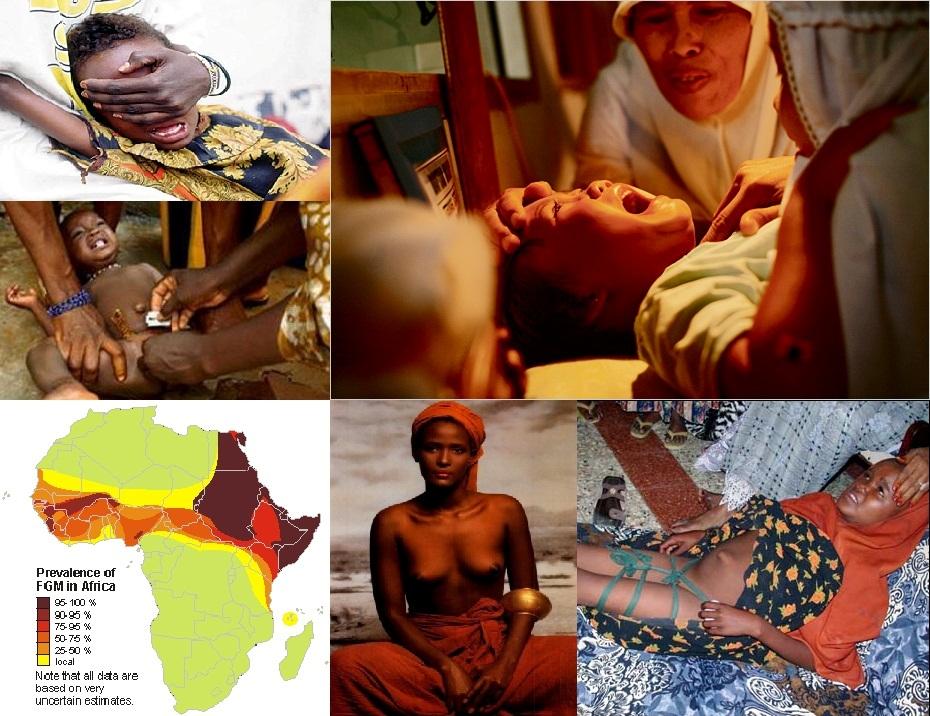 Cinco millones de niñas islámicas (5.000.000) son sometidas cada año a la ablación de sus clítoris.