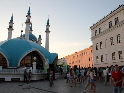 Площадь перед мечетью Кул Шариф
