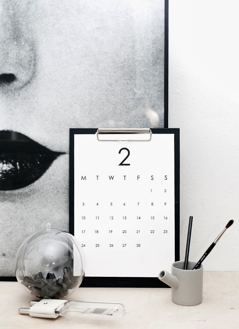 Minimalist Calendar Design : Vosgesparis diy for your home minimalistic rk design
