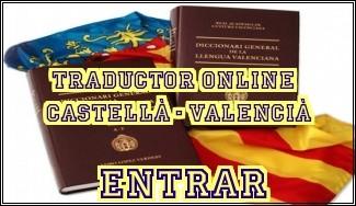 TRADUCTOR ONLINE, DE CASTELLANO A VALENCIÀ