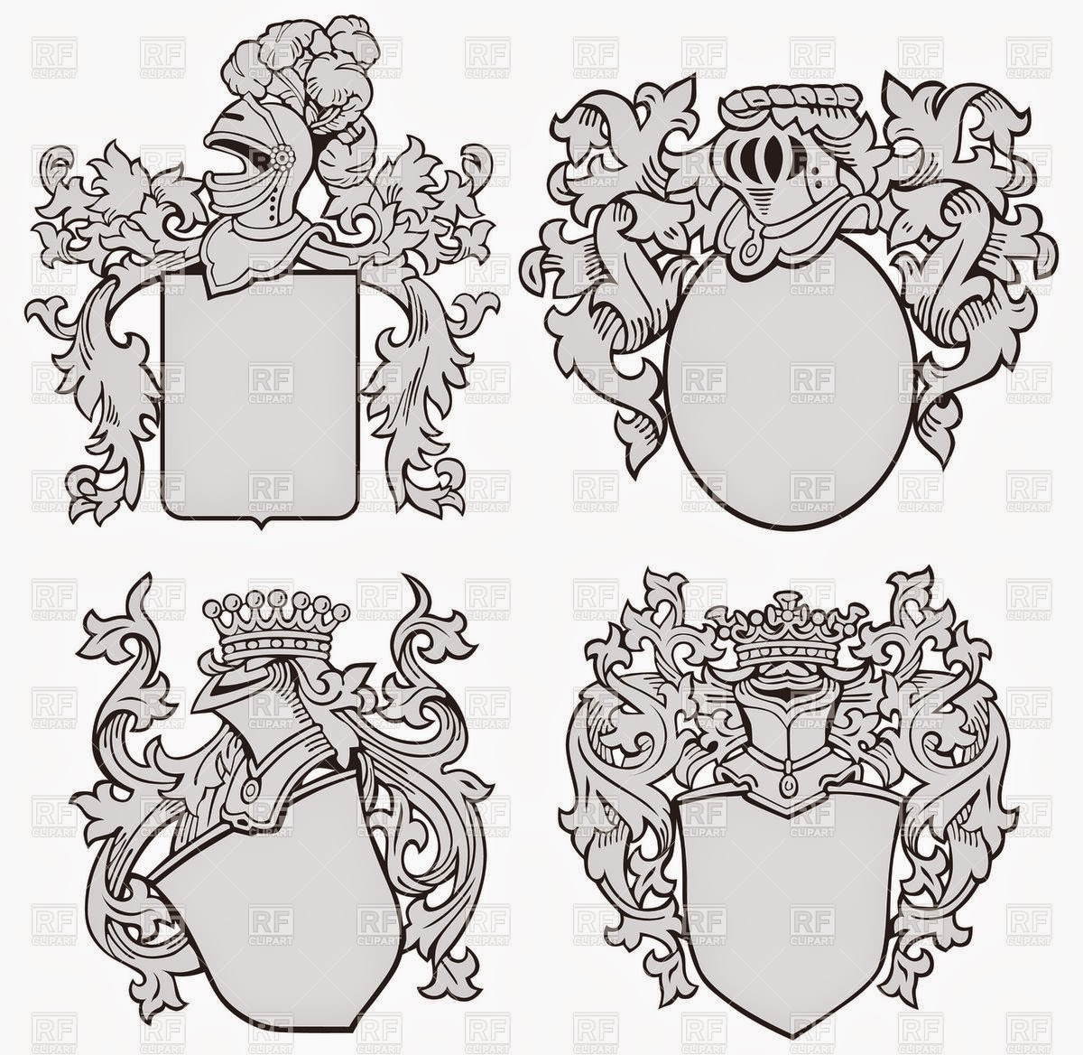 Mr MintArt Personal Coat of Arms Project – Coat of Arms Worksheet