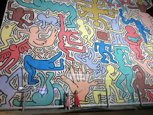 Keith Haring & the girls