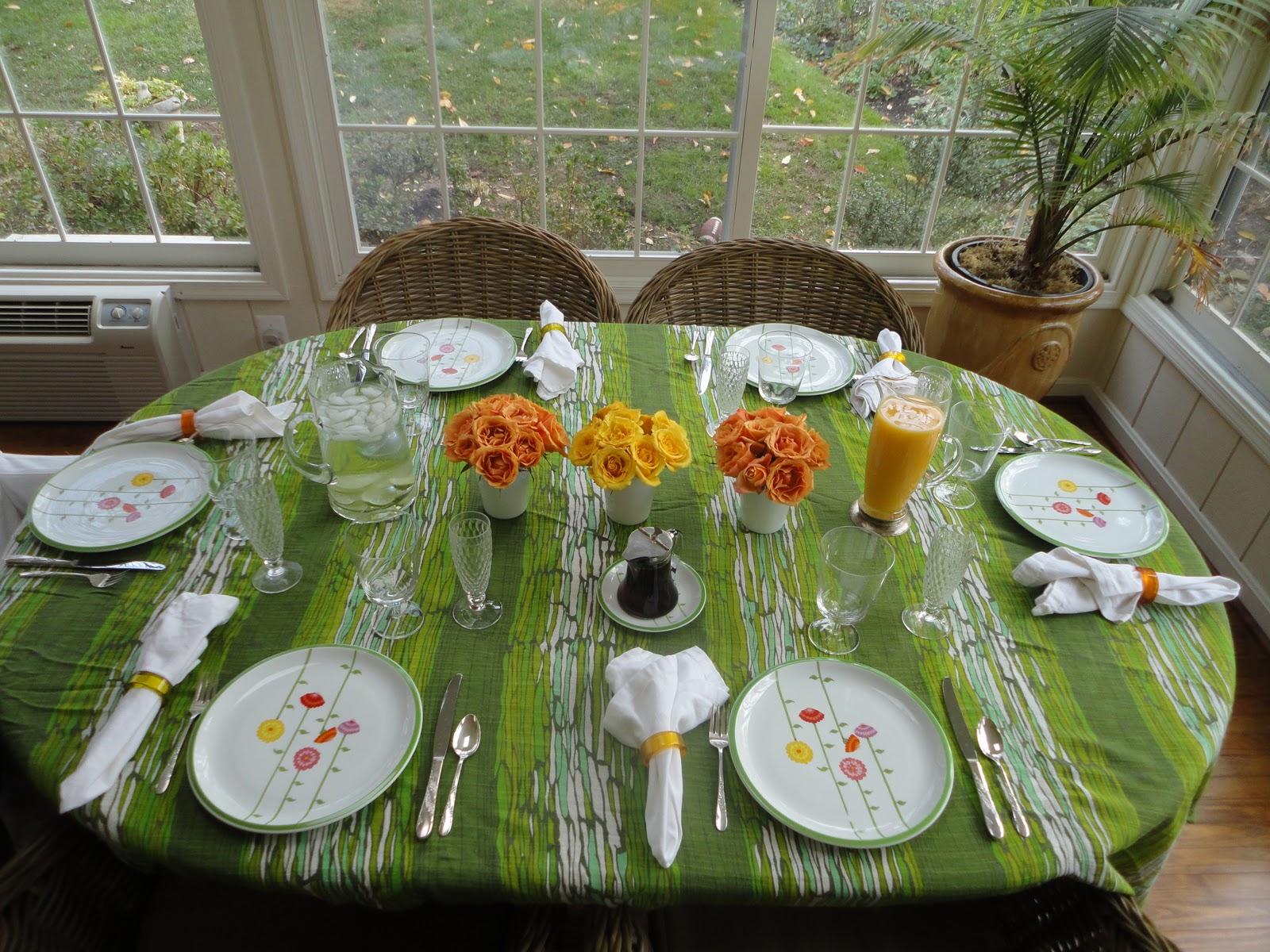Monkey grass hill vintage sunday breakfast for Table 52 sunday brunch