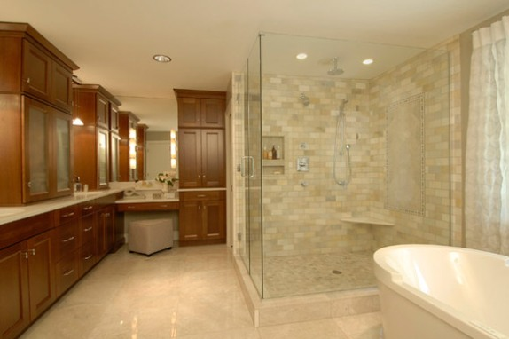 porcelain tile bathroom ideas