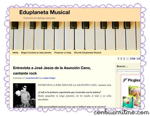 A Music blogs blog: Eduplaneta Musical
