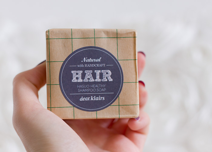 dear klairs Hasuo Healthy Shampoo Soap Hair Natural Shampoo Bar Korean