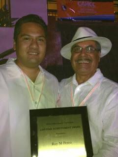 With Eric Vega