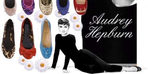 bailarinas de Audrey Hepburn