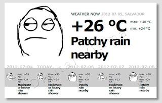 Weatherage - Previsão do Tempo diferente em vários países