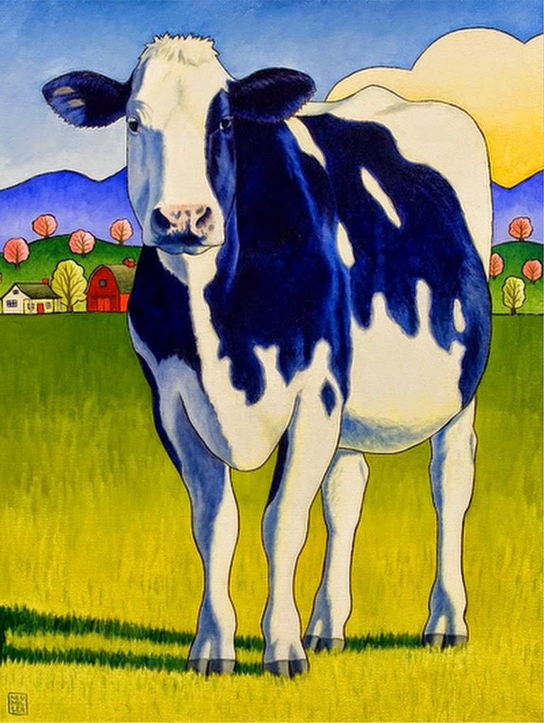 Im genes arte pinturas ver modernos cuadros decorativos - Cuadros de vacas ...