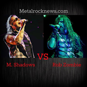 "M.Shadows vs Rob Zombie. Vote as ""Best Frontman"""