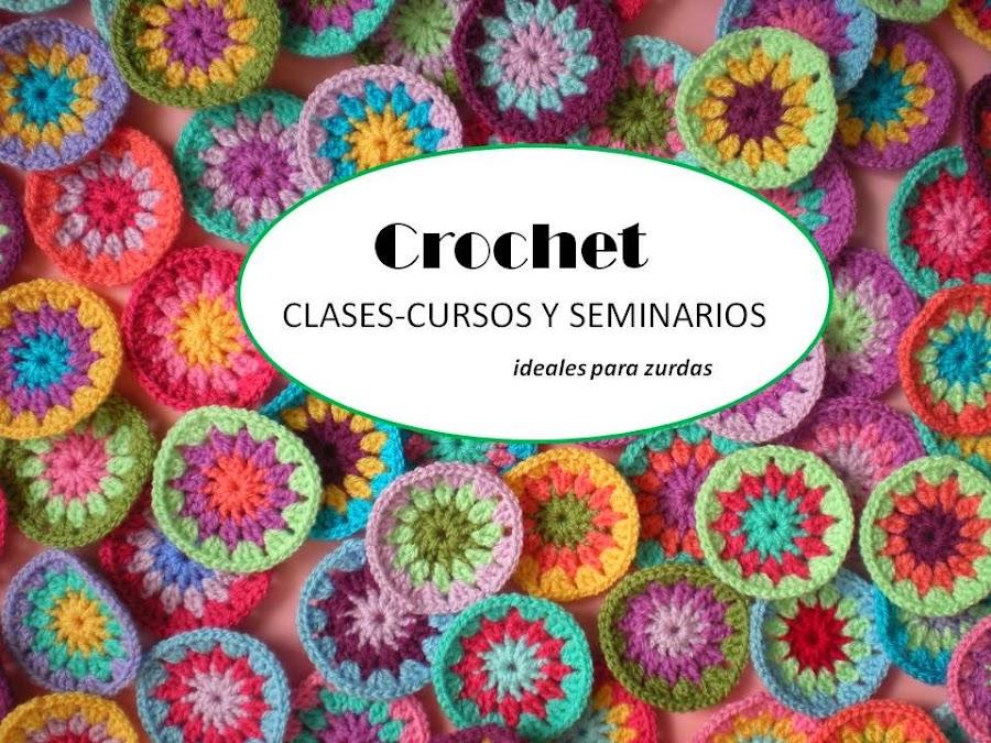 CROCHET Clases, cursos y seminarios