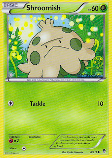 Shroomish Furious Fists Pokemon Card