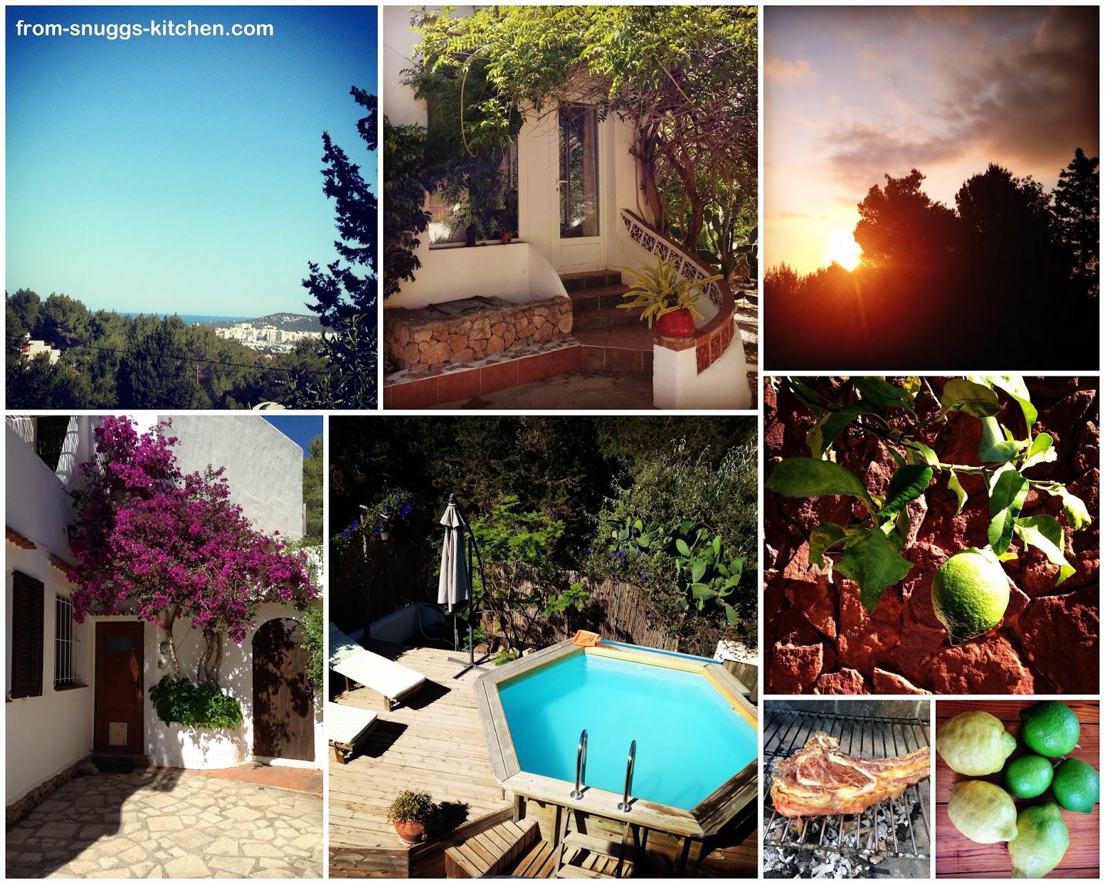 Collage Ibiza Finca
