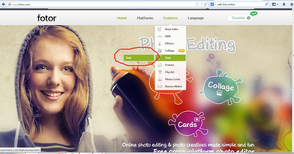 gusedisaputra: Membuat Tulisan pada Foto/Gambar secara Online