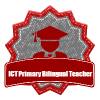 "My ""ICT Primary CLIL Teacher"" badge"