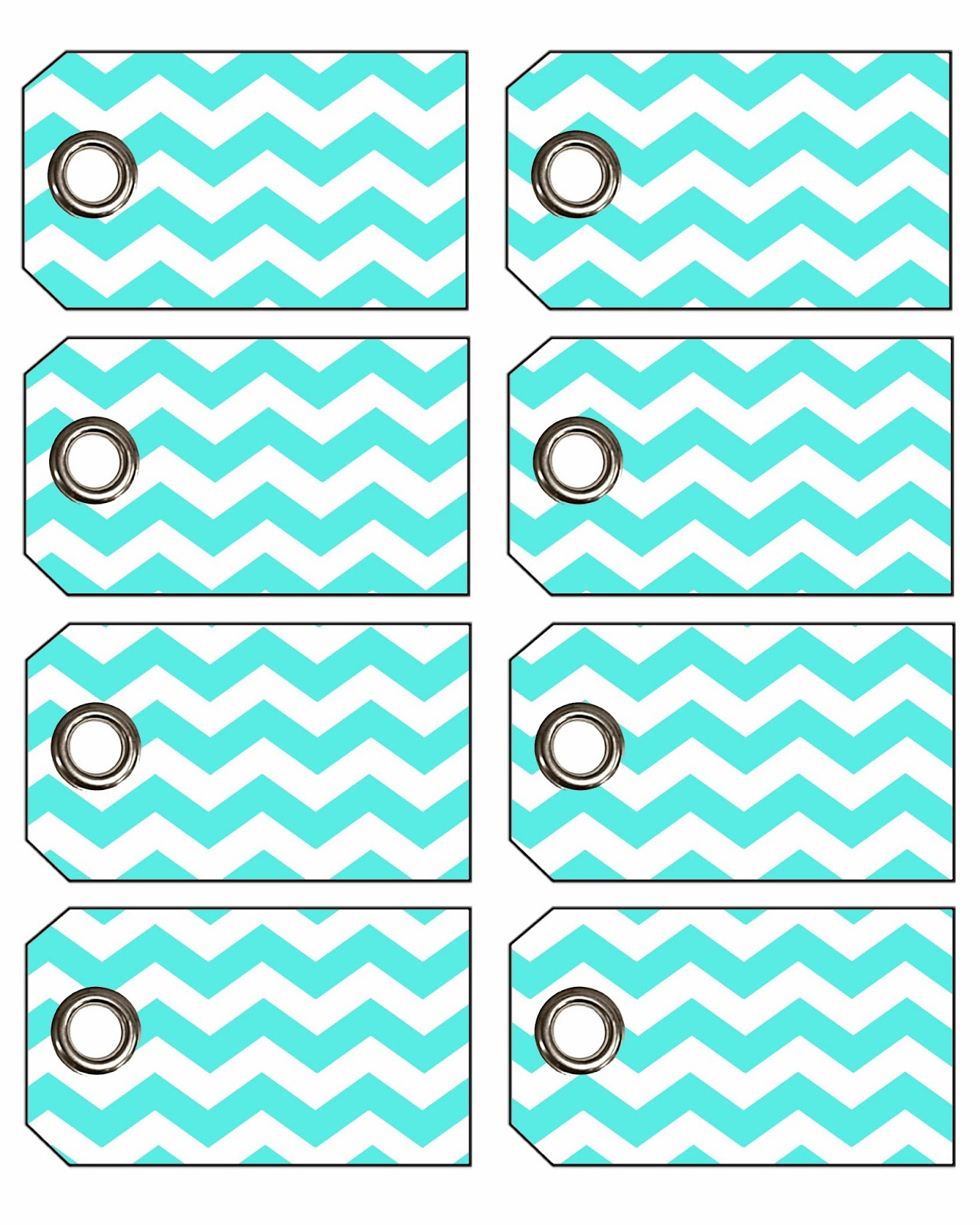 Doodlecraft Freebie Week Chevron Gift Tags with Eyelets