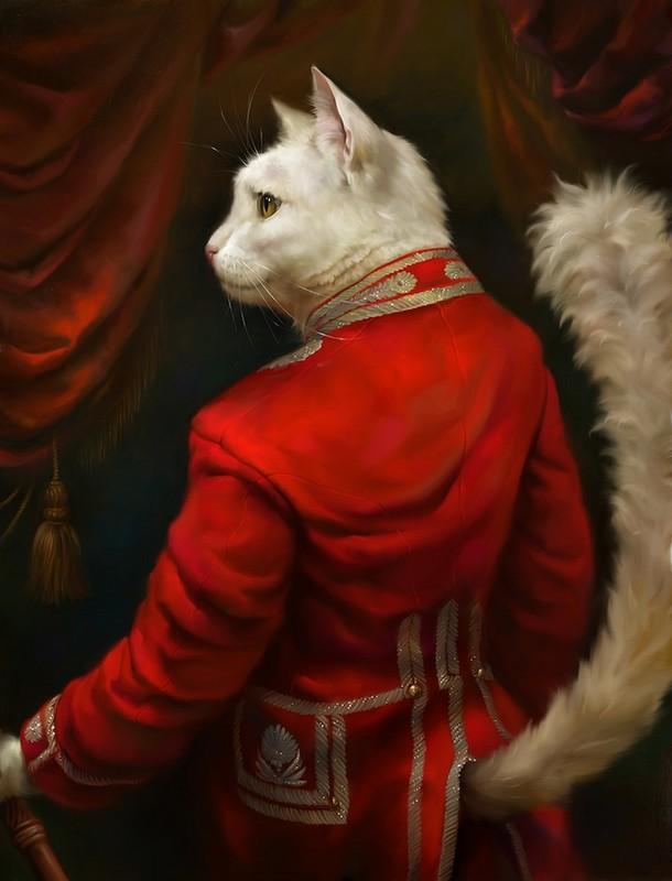 cute portraits of cats