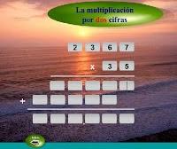 Multiplicar por dos números