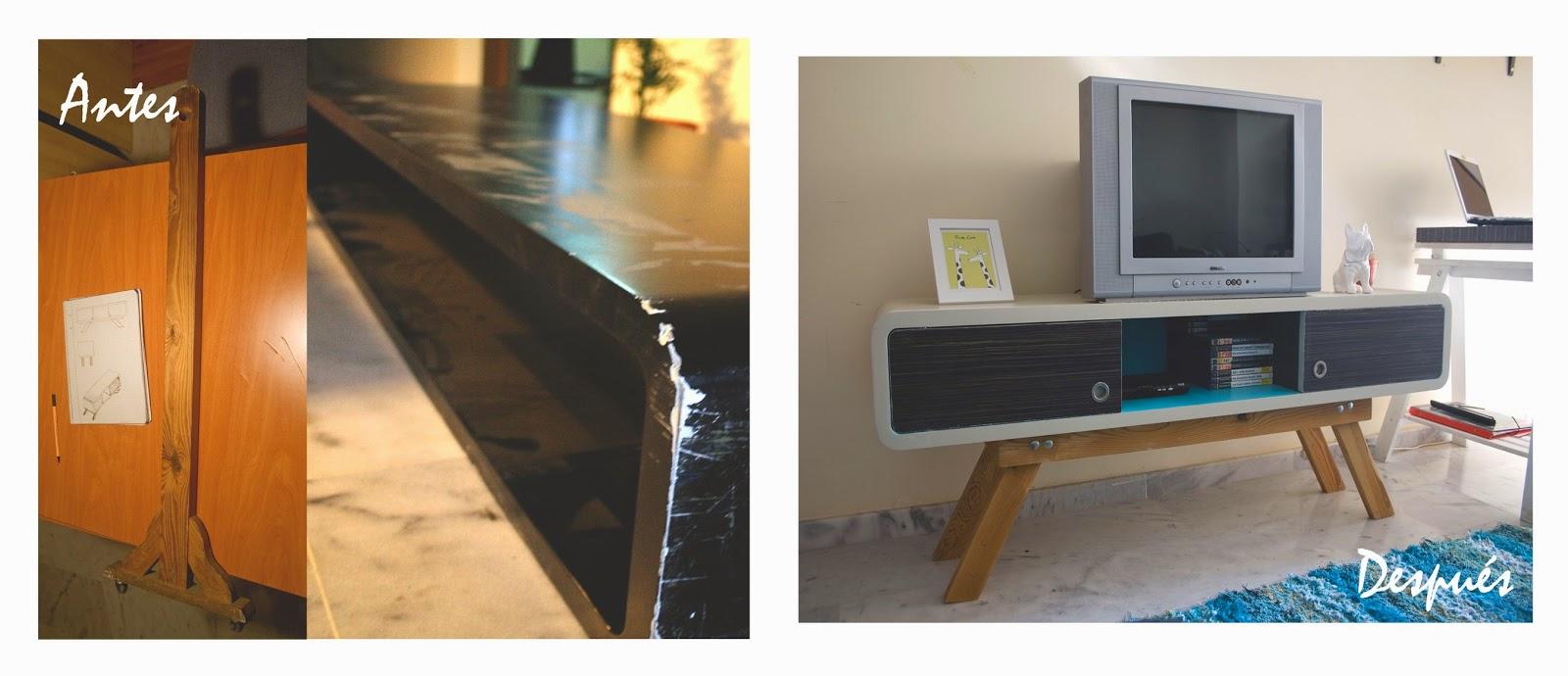 Muebles Para La Television De Madera Casa Ferro Mueble Para  # Muebles Restaurados Baratos