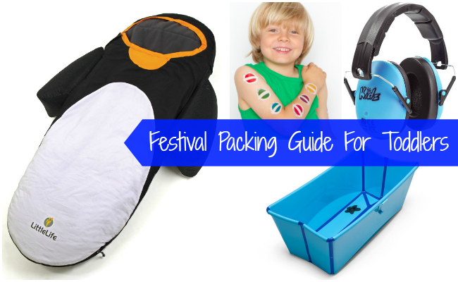 Festival Packing Guide for Toddlers