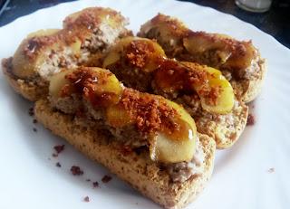 Carrillera Con Manzana Caramelizada Y Sal De Bacon