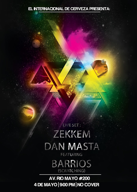 Evento: Dan Masta, Zekkem & Dj Barrios @ Cuernavaca