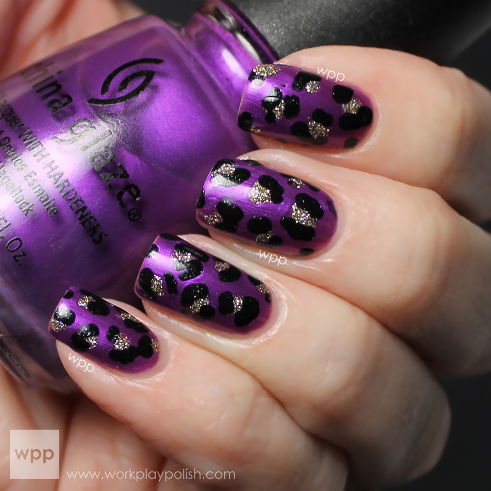 China Glaze Coconut Kiss, I'm Not a Lion and Smoke and Ashes (work / play / polish)