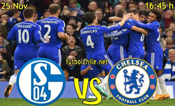 Schalke 04 vs Chelsea - Champions League - 16:45 h - 25/11/2014