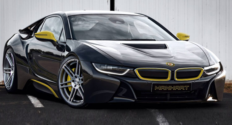 manhart piques our curiosity with new bmw i8 tune. Black Bedroom Furniture Sets. Home Design Ideas