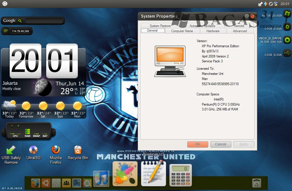 Skin Pack Ubuntu For Windows XP 3