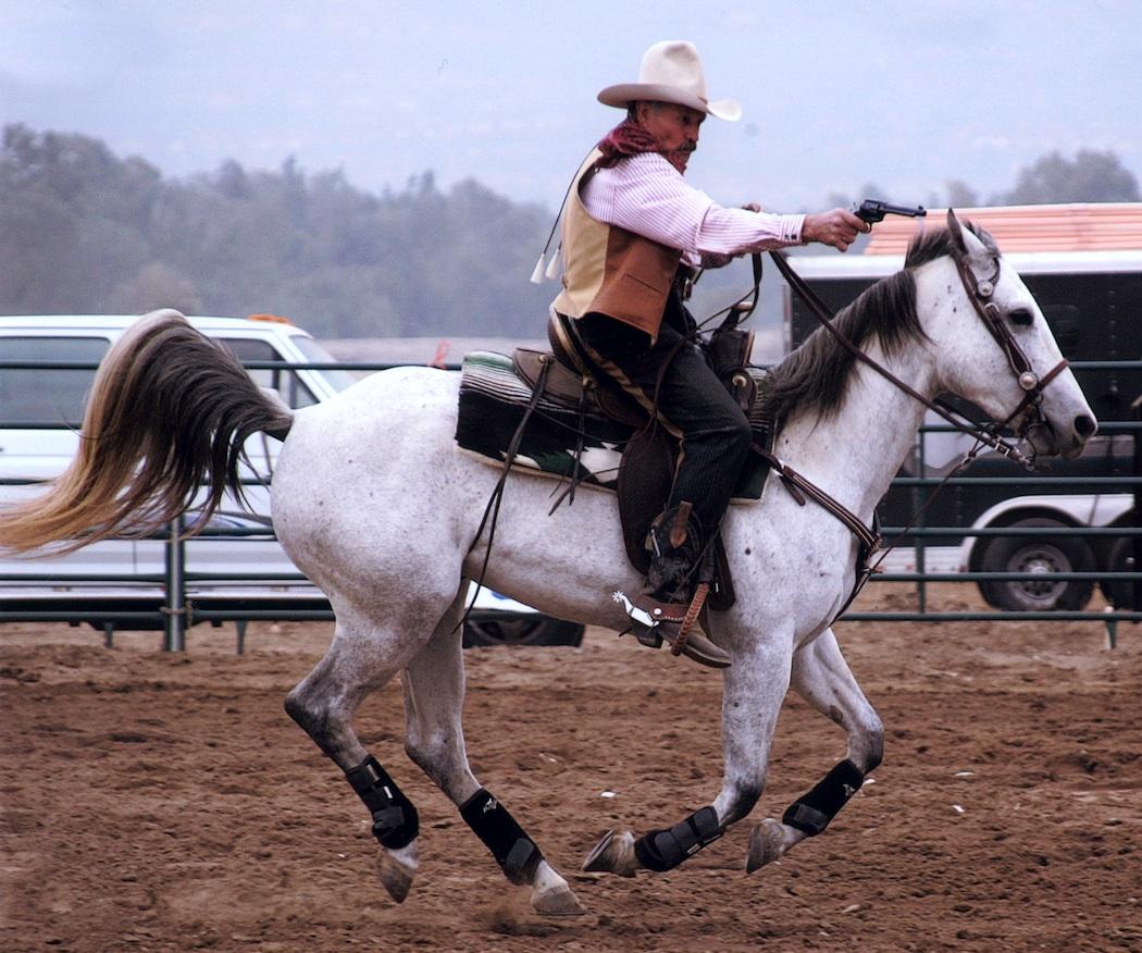 Cowboy Shooting Up