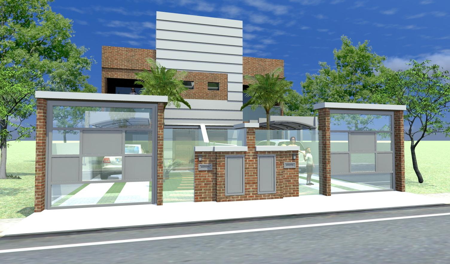 Sekai projetos e interiores casas geminadas estudo de for Modelos de casas procrear clasica