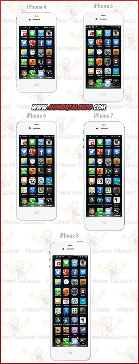 Melhores piadas sobre o iPhone 5 - iPhone 2012