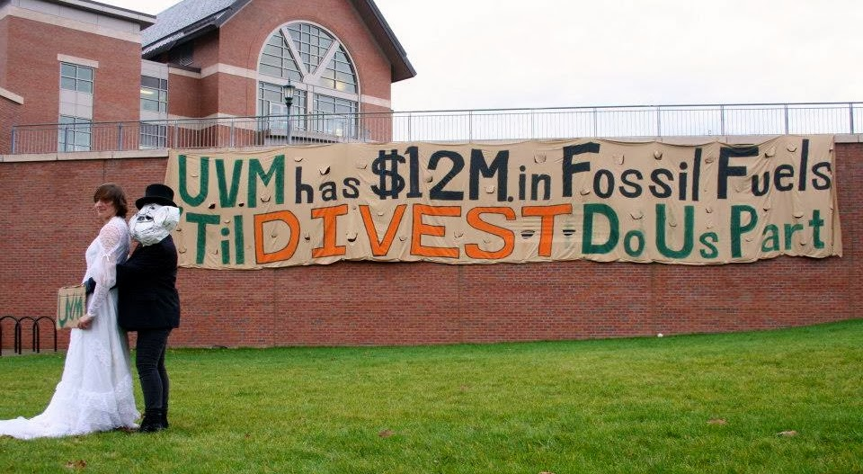 UVM Divest Now.
