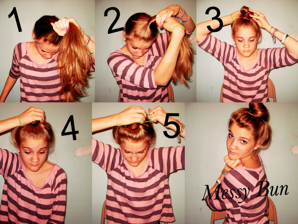 Learn Here How To Make A Messy Bun Step By Step Calgary