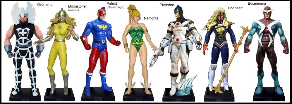 <b>Wave 53</b>: Overmind, Moonstone, Patriot, Namorita, Protector, Lionheart and Boomerang